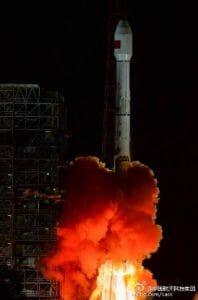 「長征三号乙」ロケット、謎の衛星「通信技術試験衛星一号」を打ち上げ