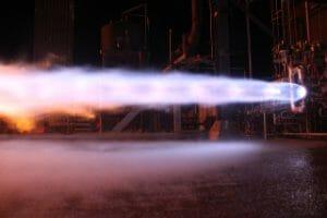 ブルー・オリジン社、「BE-4」エンジンの開発試験が100回を超えたと発表