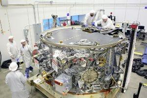 「シグナス」補給船運用4号機、ケネディ宇宙センターへ 12月打ち上げに向け準備