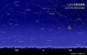 本日深夜は「しぶんぎ座流星群」の天体ショーを見よう!