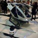 世界初! 一人乗りドローン「Ehang 184」は自動運転でひとっ飛び