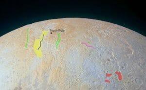 冥王星の北極点や峡谷…見たことある?