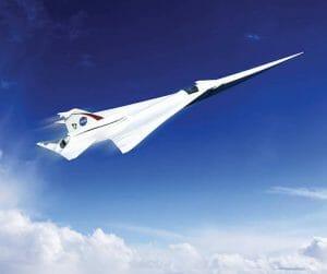NASAの次世代超音速ジェット旅客機「Xプレーン」は静音仕様!