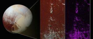 冥王星の山脈がティラミスみたいでおいしそう