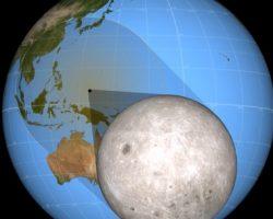 3月9日の部分日食がどうして起きるのか、3Dモデルで見てみよう!