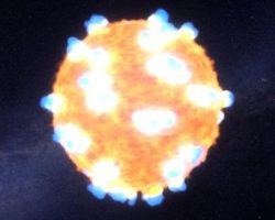 太陽の1.3億倍明るい「星の超新星爆発」をNASAが初観測! 再現動画も公開