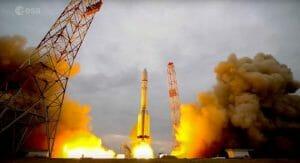 火星探査機「エクソマーズ」打ち上げ 迫力の4Kタイムラプス動画でどうぞ