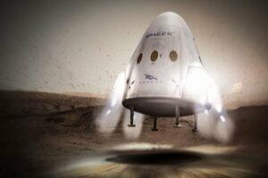 スペースX 民間火星探査を2018年に実施へ! レッド・ドラゴン宇宙船利用