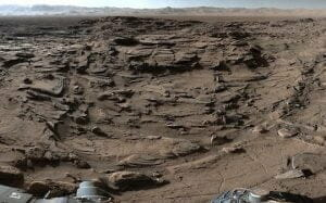 「火星の新360度映像」 探査機キュリオシティが撮影し公開