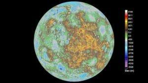 水星の全地形図が史上初めて作成される