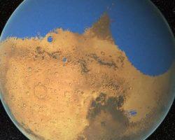 古代火星に「巨大津波」襲来か 約34億年前の隕石が原因との研究報告