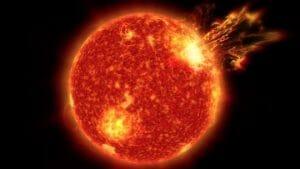 """地球に生命体が誕生したのは太陽の""""スーパーフレア""""のおかげ?"""