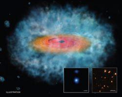 巨大ブラックホールの急誕生の謎、最新研究で明らかに