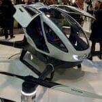 世界初の一人乗りドローン「Ehang 184」、飛行テスト実施へ!
