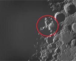 月面に浮かぶ文字「月面X」を観察しよう!