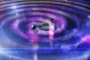初の重力波観測、100億年以上前の「2つの巨大恒星」の成れの果てだった