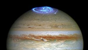 木星に地球より大きい「巨大オーロラ」出現 まさに宇宙の神秘!