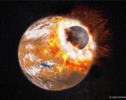 火星の月、巨大隕石と「消えた第3の月」が形成か 最新研究より