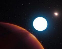 「3つの太陽」持つ巨大惑星を発見 奇妙なバランスで安定中