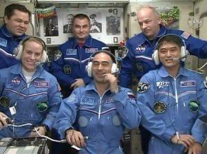 大西飛行士ら「宇宙ステーション」へ入室 約4ヶ月のミッション開始