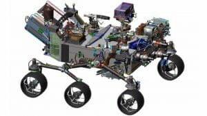 NASA、新型火星探査車「Mars 2020」を公開 生命の痕跡調査へ