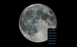「月の顔の右目」は直径240km以上の原始惑星の衝突が作成か:研究報告より