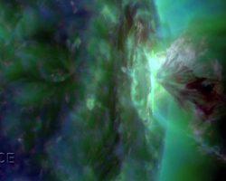 太陽の噴火。「今年最大の太陽フレア」を観測 規模はM7.6