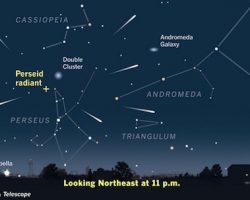 「ペルセウス座流星群」12日夜に見頃。今年は多めに降りそう!