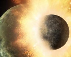 地球への惑星の衝突が、生命の源となる「炭素」をもたらした?:研究報告より