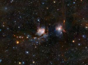宇宙の塵に隠されたM78星雲の星々、「ダストバスター」望遠鏡が解き明かす