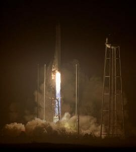 アンタレスロケット、爆発乗り越え2年ぶりに打上げ成功 ISSへと物資運搬