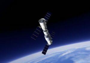 中国人の有人宇宙船、宇宙実験室「天宮二号」にドッキング成功 30日の滞在ミッションへ