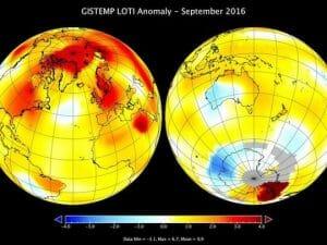 「最も熱い9月」過去136年間より観測 NASA発表 止まらぬ地球温暖化