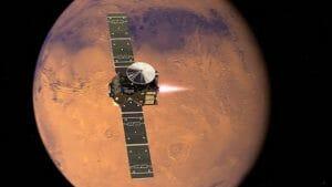 欧露の火星探査「エクソマーズ」、周回探査機の投入成功! 一方着陸機は信号未確認