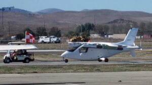 これがグーグル創業者の空飛ぶ自動車? 実車が空港で発見される
