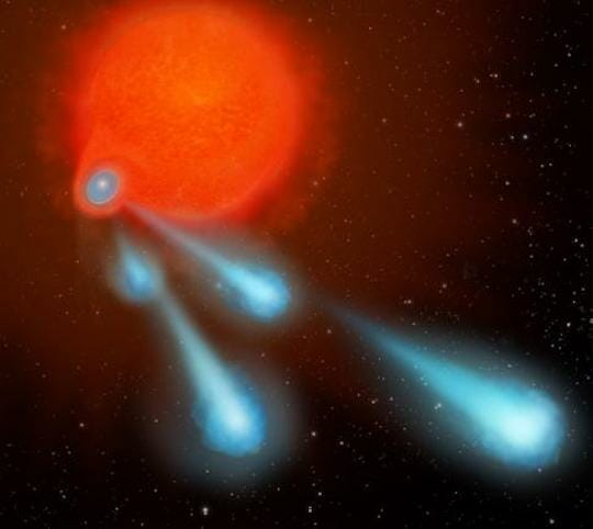 hubble-sees-star-shooting-cannonballs-into-space