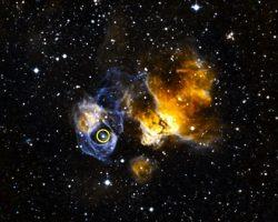 珍しく、最も明るいガンマ線連星「LMC P3」が近くの銀河で発見される