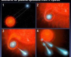 星からの火星の約2倍大の「キャノンボール」放出、ハッブル宇宙望遠鏡が観測