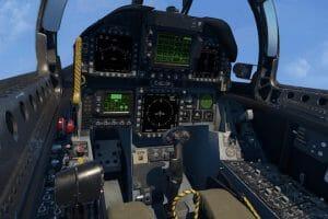 米海軍、VRによるF/A-18シミュレーター展示へ 市販VRヘッドセットで敵機を撃墜