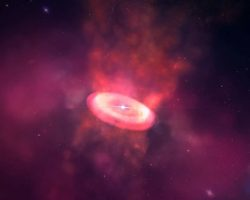 赤ちゃん星が放つ強力な「旋風」 ALMA望遠鏡で観測に成功