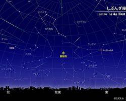 「しぶんぎ座流星群」は2017年1月3日〜4日未明が見頃! 好条件の3大流星群を観測しよう