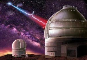 宇宙からの「高速電波バースト」発信元が判明 30億光年先の矮小銀河