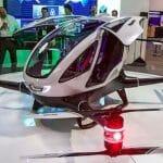 タクシードローン「Ehang 184」 ドバイで今夏にも運用開始へ パイロットいらずの自動運転
