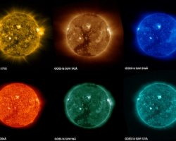 まるで太陽のボンボン菓子。静止気象衛星「GOES-16」がコロナホールを初観測