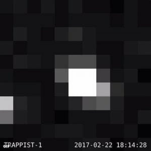 7つも地球型惑星が見つかった「TRAPPIST-1」 NASAが画像を初公開