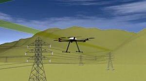「ドローンハイウェイ構想」東電とゼンリン発表 送電線上飛行し充電施設も