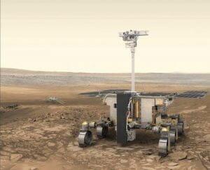欧州の「エクソマーズ2020」火星探査車 2箇所の着陸候補地が決定