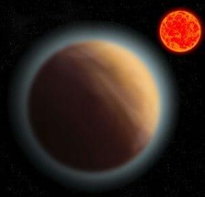 地球サイズの系外惑星「GJ 1132b」に大気 水の存在の可能性も
