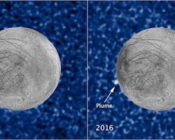 木星の衛星「エウロパ」で水噴出か?