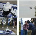 KDDI、日本初の4G LTE対応「スマートドローン」による完全自律飛行実験を実施